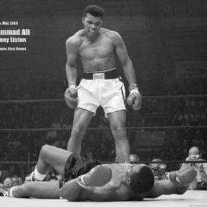 1art1 39065 Muhammad Ali – Vs. Sonny Liston VI Poster 91 x 61 cm