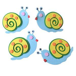 3 STÜCK Kinderzimmer Dekoration Zubehör für Snail Pattern