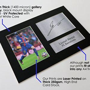 HWC Trading Kylian Mbappe Geschenke Unterzeichneten A4 Gedrucktes Autogramm Paris Saint-Germain PSG Druck-Foto-Bilderanzeige