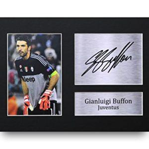 HWC Trading Gianluigi Buffon A4 Ungerahmt Signiert Gedruckt Autogramme Bild Druck-Fotoanzeige Geschenk Für Juventus…