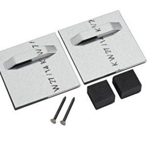 Aufhänger für Aludibondverbundplatten, Spiegel 70 x 70 mm
