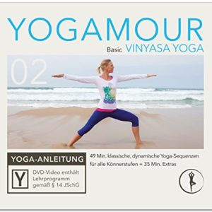 Basic Vinyasa Yoga: Klassische Übungen für einen beweglichen Körper inkl. Meditation – YOGAMOUR DVD 02