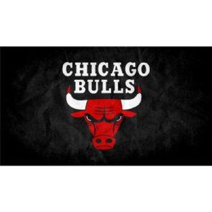 Chicago Bulls (43inch x 24inch / 107cm x 60cm) Silk Print Poster – Seide Plakat – 923063