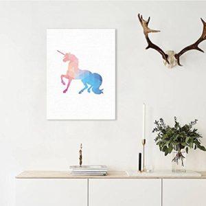 MINRAN DECOR A Premium Kunstdruck Wand-Bild – elk CP206 – Leinwand-Druck – Leinwand-Bilder auf Holz-Keilrahmen als moderne Wanddekoration