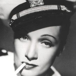 Moviestore Marlene Dietrich 91x60cm Schwarzweiß-Posterdruck