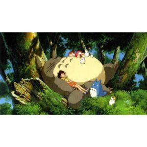 My Neighbor Totoro (43inch x 24inch / 107cm x 60cm) Silk Print Poster – Seide Plakat – B5C004