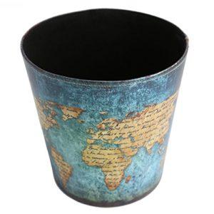 Papierkörbe, OviTop Europäischer Stil Mülleimer Abfalleimer Wasserdicht Haushalt Leder Mülleimer Dekorativ Papierkorb…