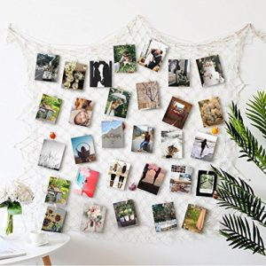 RECESKY Foto hängende Anzeige, Bilderrahmen Wanddekoration, Fotorahmen Collage