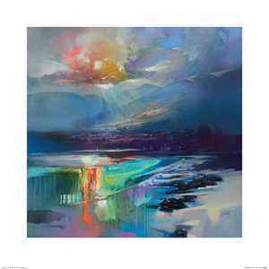 Scott Naismith 'Arran Shore' Kunstdruck, 60 X 60 cm
