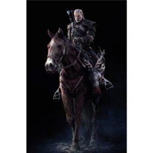 The Witcher 3 Wild Hunt (24inch x 36inch / 60cm x 91cm) Silk Print Poster – Seide Plakat – 9FA334