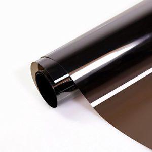 Transparente Sonnenschutzfolie selbstklebend (99% UV-block) UV-Blocker Folie für Fenster, Fensterfolie, Hitzeschutz (blockt 99% der UV-Strahlen), UV-Schutzfolie,