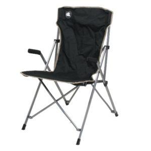 10T Campingstuhl Slimboy XL Klappstuhl mit Armlehnen leichter klappbarer Gartenstuhl max 130 kg