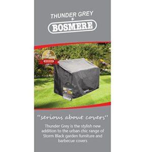 "Bosmere 's Brand Neue""Thunder grau stapelbar/Liegestuhl Cover–Grau"