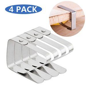 25mm Tischtuchklammern aus Edelstahl Tischdeckenklammer Tischdecke Clips Klammer Befestigen Tischtuch Clips Rostfreiem…