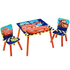 Familie24 3tlg. Holz Kindersitzgruppe Auswahl Sitzgruppe Frozen Cars Minnie Maus Mickey Maus Winnie Pooh Tisch + 2X…