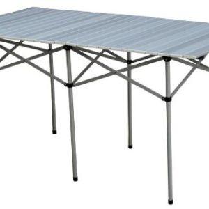 Alu Campingtisch Rolltisch Gartentisch Klapptisch Camping Tisch 140 x 70 x 70 cm