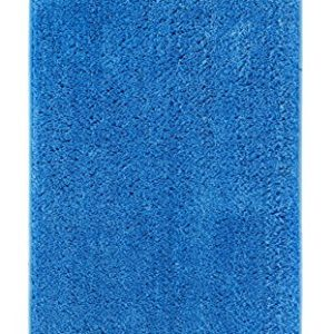 andiamo Microfaser Badteppich Größen-Oeko-Tex 100-Badvorleger eckig Badematte, Polyester, grau, 50×50 cm