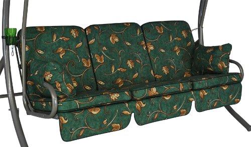 Angerer Comfort-Schaukelauflage 3-Sitzig Design Mainz grün
