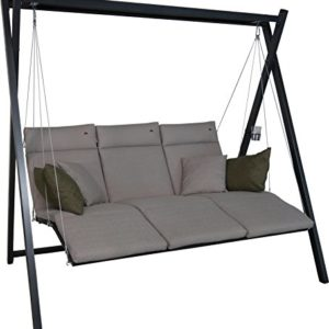 Angerer Relax Hollywoodschaukel 3-Sitzer Smart, coffee, 220 x 150 x 210 cm, 7000/270