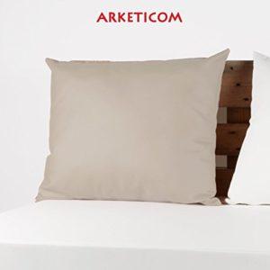 Arketicom Max Das Kissen Relax Stoff Kunstleder Abziehbar 100% Made in Italy