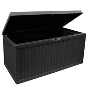 Auflagenbox 350 Liter in Schwarz