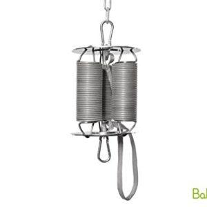 BabyBubu – Federsystem komplett bis 31 kg | geeignet für alle Federwiegen, Hängematten und Babyschaukeln | weiches…