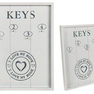 Bada Bing Schlüsselkasten Schlüsselbrett Schlüsselboard Holz