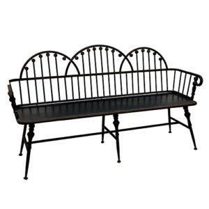 Sofa aus Eisen Schwarz