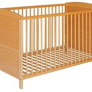 Best For Kids Gitterbett 2 in 1 Patrick 70×140 cm mit Matratze 10 cm Juniorbett Kinderbett Babybett in zwei Farben…