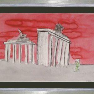 Bild Udo Lindenberg Berlin wat nu mit Rahmen