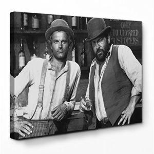 Bud Spencer – Vier Fäuste für ein Halleluja – Leinwand (120x80cm)