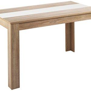 CAVADORE Esstisch Nico/Moderner, praktischer Küchentisch 140 x 80 cm/Esszimmertisch / 140 x 80 x 75 cm (L x B x H)