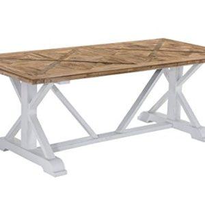CLP Esszimmertisch Adamo aus Holz I Handgefertigter Holztisch im Landhausstil I In verschiedenen Größen erhältlich 200 x…