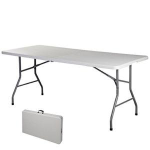 COSTWAY Klapptisch Campingtisch Falttisch Gartentisch Koffertisch Biertisch Esstisch Balkontisch Tisch klappbar