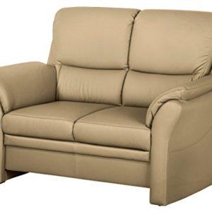 CAVADORE 4342 Klariza, 3-Sitzer, 2-Sitzer, Sessel, Leder Punch kombiniert mit Kunstleder