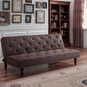 DreamWarehouse Charles Sofa Bett braun