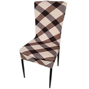 Chinget Blumendruck Stuhlüberzug Universell Stretch Stuhlhussen Abnehmbare Stuhlbezug Protector Cover Home Dekoration