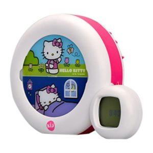 Claessens' Kids KSMOONHK Kid'sleep Moon-Nachtlicht / Aufsteh-Anzeiger Hello Kitty, weiß