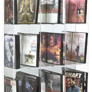Sora.de DVD-Modulregal mit verspiegelter Rückwand