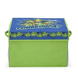 Delta Ninja Turtles-SPIELZEUGKISTE AUS Stoff, Non-Woven, Green, 53x33x32.5 cm