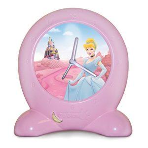 Worlds Apart 255DPS01E – Go Glow Disney Princess 2-in-1 Nachtlicht und Wecker, pink