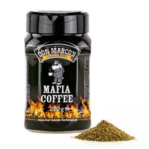 Don Marco`s KS0307 Don Marco´s Rub-Set: Cherry Bomb, Mafia Coffee, PigWing® Seasoning, Carolina Mustard & King Cacao