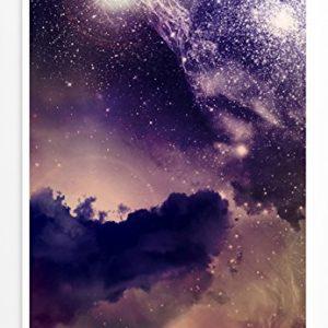 Eau Zone Home Bild – Galaxie mit kosmischem Staub- Fotodruck in gestochen scharfer Qualität