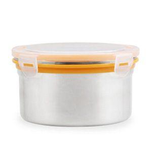 Edelstahl Crisper Instant Nudeln Schale versiegelt Jar Student Lunch Boxes Mittagessen Box Lunch Box Circular Suppe mit Deckel