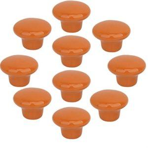 FBSHOP(TM) 10x33mm Porzellan Möbelknöpfe Griffe Knauf MöbelKnopf Tür für Schränke, Schubladen, Truhen, Schlafzimmer, Badezimmer ,Kindermöbel Schubladengriffe Dekorative