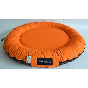Fabotex Dreamaway Boston Round Orange/Braun Matratze Ø 80 x 10 cm