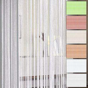 Fadenvorhang 60 x 245 cm Fransenvorhang Flächenvorhang Vorhänge Fliegenvorhang Gardinen