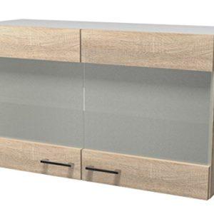 Flex Well Küche Einzelteile, Transparent, 100 x 54.8 x 32 cm