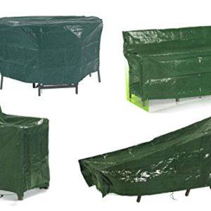 Florabest® Gartenmöbel Schutzhülle, Reißfest, wasserabweisend und UV-beständig – für Gartenliege