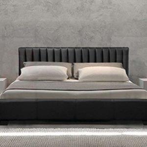 Frankfurt & Co–Bruge Italienischen Moderner Designer Bett Nur–erhältlich in 2Größen und 3Farben.